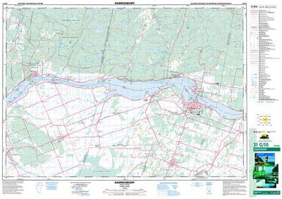 Map Of Hawkesbury Ontario