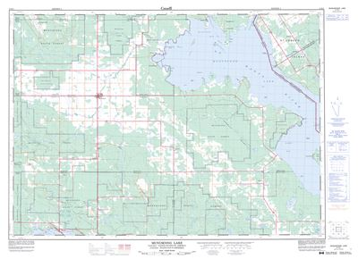 K T on Lake George Topographic Map
