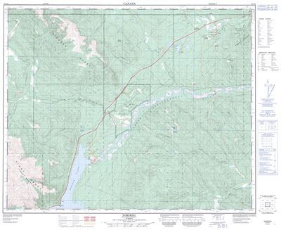 C T on Lake George Topographic Map