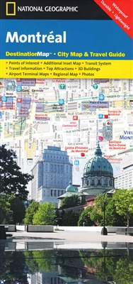 National Geographic Destination City Map