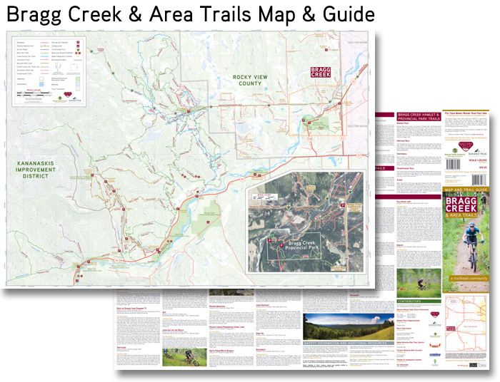 Greater Bragg Creek Custom Map Project