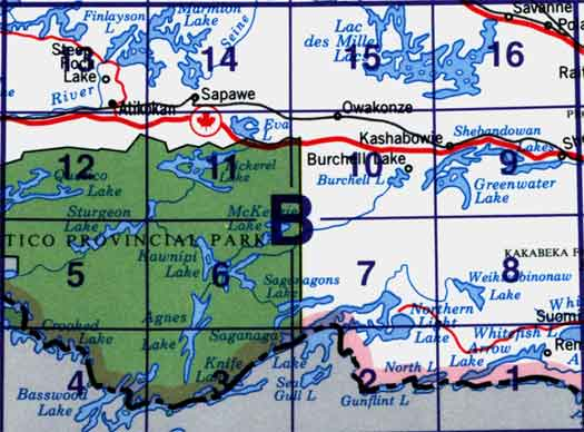 North Arrow On Map Of Canada.Canada Topo Maps Nts Block 052b Map Town
