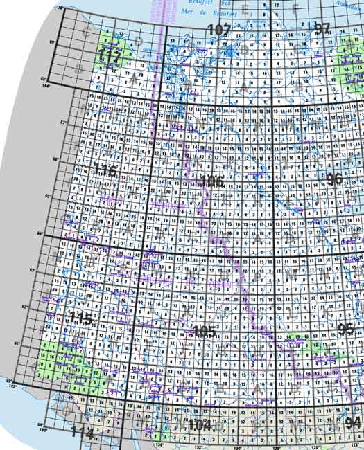 Canada Topographic Maps on
