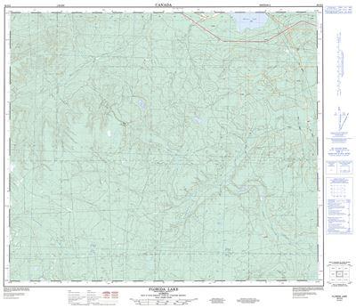083O02 - FLORIDA LAKE - Topographic Map