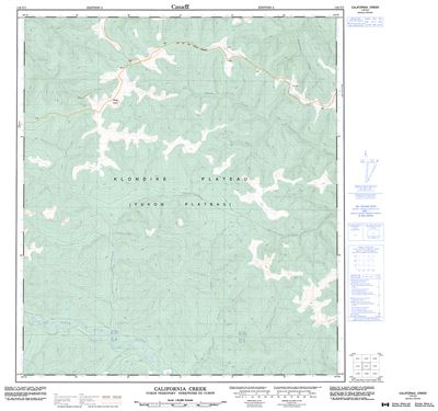 116c01 California Creek Topographic Map