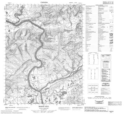 Hill Topographic Map.116p05 Mason Hill Topographic Map