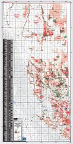 NE BC Oil and Gas Fields & Wells Map. This base map ...